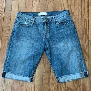 Paper Denim And Cloth Jean Shorts